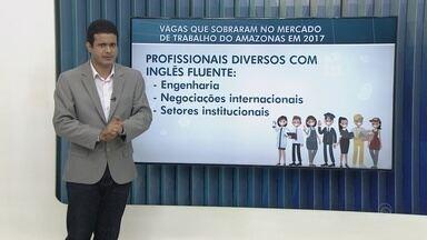 Consultor fala sobre vagas de emprego que sobraram em 2017 - Flávio Guimarães fala sobre o assunto.