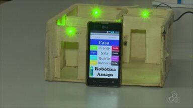 Estudantes da Unifap criam aplicativo que transformar o celular em um controle remoto - Na terça-feira (19) e na quarta-feira (20) haverá um curso na Unifap para o público sobre o aplicativo no telefone. As inscrições estão abertas na universidade.
