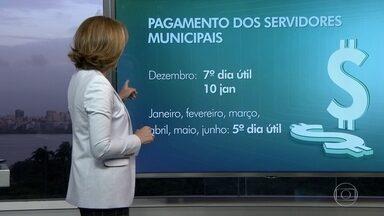 Prefeitura do Rio muda data de pagamento dos servidores municipais - Em janeiro, salário sai no dia 10 e os próximos seis pagamentos acontecem no quinto dia útil do mês.