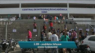 Confira o número de faltosos no concurso da UEPB - Mais de 38 mil pessoas concorrem a quase duzentas vagas.