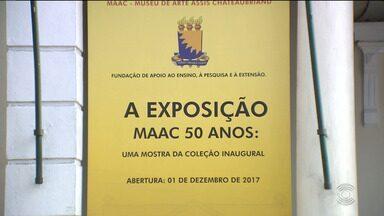 Obras de artistas nacionais e internacionais são expostas em museu de Campina Grande - A exposição faz parte da comemoração dos 50 anos do Museu Assis Chateaubriand.