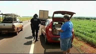 Comando de Operações de Divistas intensifica fiscalização nas rodovias de Goiás - Foco são vias que ligam o estado a outras unidades da federação.