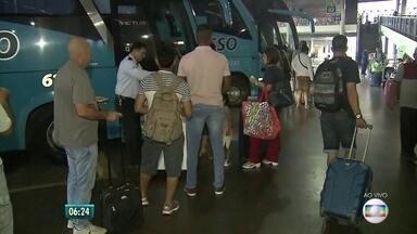 TIP deve receber 50 mil passageiros neste fim de ano - Isso representa 40% a mais da movimentação no Terminal Integrado de Passageiros.