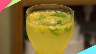Drink de Maracujá é ótima pedida para o verão - Gabi Rossi dá a dica da receita!