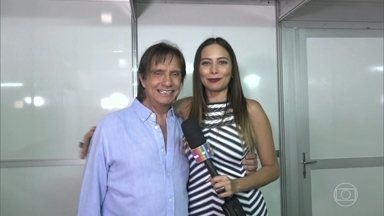 Especial do Roberto Carlos reuniu artistas de diferentes tribos - Confira bastidores do programa do Rei