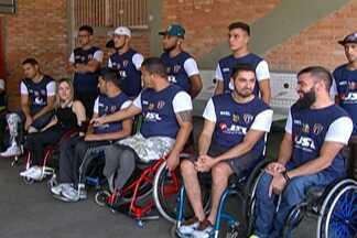 Conheça o projeto que ensina modalidades paralímpicas em Mogi das Cruzes - Projeto de inclusão possibilita a prática de esportes para pessoas deficientes