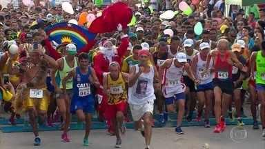 Corrida para a Luz ocupa as ruas de Camaragibe - Lurdinha e Márcio Leão venceram a corrida principal.