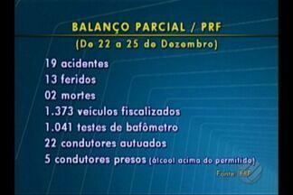 Balanço da PRF registra duas mortes nas rodovias do Pará no final de semana do Natal - Ações de fiscalização nas estradas federais do estado serão intensificadas neste fim de ano.