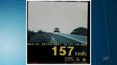 Motoristas abusam da velocidade no feriado de Natal nas estradas do Ceará - Confira outras notícias em G1.globo.com/ce