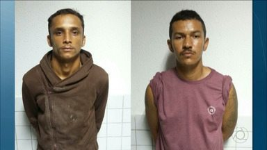 Presos em João Pessoa acusados de assaltos - Entre os presos está um homem suspeito de matar vigilante de escola do Bairro dos Estados.
