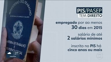 Termina nesta quinta (28) prazo para saque do PIS/PASEP de 2015 - Termina nesta quinta (28) prazo para saque do abono salarial do PIS/PASEP de 2015. mais de 400 mil trabalhadores do estado tem esse direito.