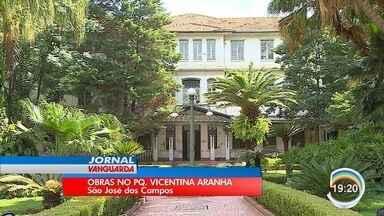 Parque Vicentina Aranha passa por reformas - Local passa por reformas.