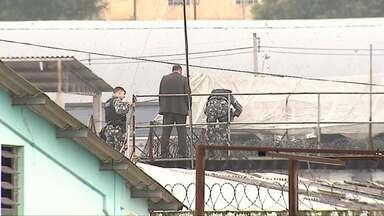 Presos encerram rebelião na cadeia de Castro - Foram mais de 20 horas de negociação.