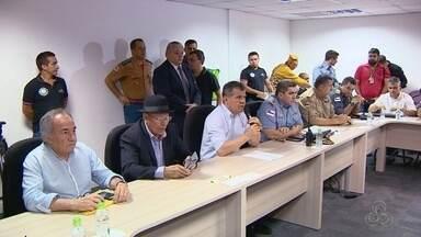 Segurança é reforçada para festa da virada do ano em Manaus - SSP anunciou Operação Réveillon 2018 com atuação de dois mil servidores