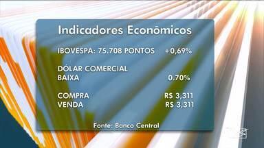Indicadores do mercado financeiro para esta quarta-feira (27) - Indicadores do mercado financeiro com informações do Bom Dia Mirante.