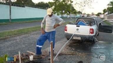 Chuvas preocupam moradores da Zona Leste de Teresina por más condições nas ruas - Chuvas preocupam moradores da Zona Leste de Teresina por más condições nas ruas