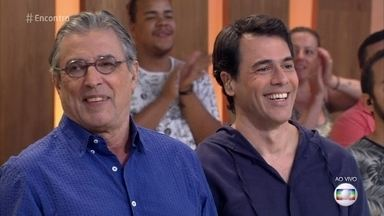 Ivan e Claudio Lins cantam 'Dinorah, Dinorah' - Pai e Filho se apresentam no 'Encontro'