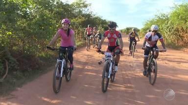 Atleta que se divide entre o ciclismo e uma padaria vence o Brasileiro de Mountain Bike - Conheça a história de Sivaldo, padeiro e atleta de Ibotirama.