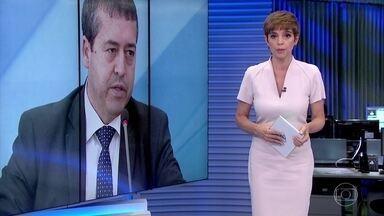 Ministro do Trabalho pede demissão do governo Temer para se dedicar às eleições - Ronaldo Nogueira pediu demissão e entregou o cargo numa reunião que teve na tarde desta quarta (27) com o presidente.