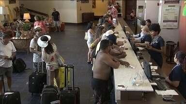 Hotéis estão próximos da plena ocupação neste feriado - Um réveillon de esperança renovada para o turismo no Brasil depois de três anos em baixa.