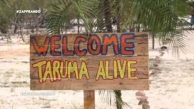 Parte 1: Moa e Isa participam de mais uma edição do Tarumã Alive - Dupla se aventurou no slackline