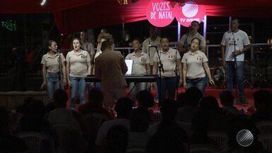 Projeto Vozes do Natal, da TV Bahia, promove apresentação de coral no Largo do Tanque - Essa foi a última edição do projeto, que levou apresentações de corais natalinos para praças de diversos bairros da capital baiana no mês de dezembro.