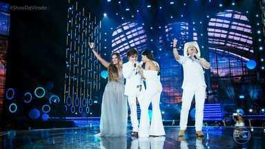 Show da Virada 2018 - Luan Santana, Jorge & Mateus, Wesley Safadão, Chitãozinho & Xororó e Simone & Simaria celebram a chegada de 2018 em show especial.