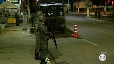 Rio Grande do Norte segue pelo terceiro dia com o exército nas ruas - Faz duas semanas que o estado enfrenta uma onda de violência desde que as polícias civil e militar pararam de trabalhar em reivindicação ao atraso dos salários.
