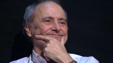 """Marco Mora é homenageado por Galvão Bueno, no """"Bem, Amigos"""", antes de sua aposentadoria - Marco Mora é homenageado por Galvão Bueno, no """"Bem, Amigos"""", antes de sua aposentadoria"""