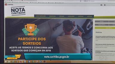 Nota Curitibana dá desconto no IPTU e prêmios em dinheiro - Para participar, basta se cadastrar e pedir CPF na nota.
