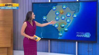 Tempo: sexta-feira (5) será de sol na maior parte do RS - Previsão mostra chuva apenas para o extremo Sul.