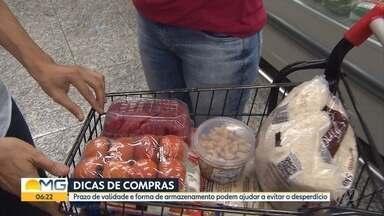 Consumidor precisa ficar atento a prazo de validade e a armazenamento de alimentos - Na hora da compra, o cuidado com a qualidade é essencial.