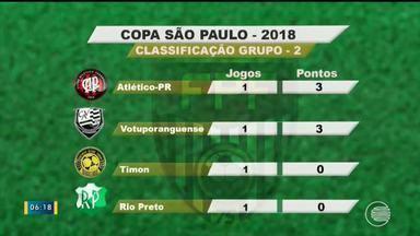 Timon é derrotado pelo Votunporanguese no primeiro jogo da Copa SP - Timon é derrotado pelo Votunporanguese no primeiro jogo da Copa SP
