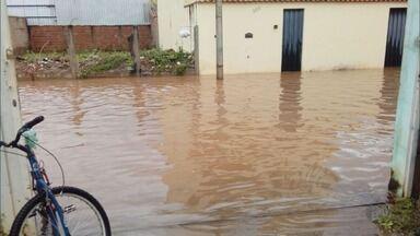 Chuva causa estragos e alagamentos em Santa Rita do Sapucaí, MG - Chuva causa estragos e alagamentos em Santa Rita do Sapucaí, MG