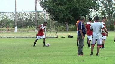 Santa Rita inicia treinamentos para o Campeonato Alagoano - Time treina pesado para conseguir bons resultados na competição.