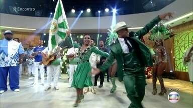 Encontro do Samba reúne mais de mil ritmistas de 13 escolas de samba do Rio de Jajeiro - Carlinhos de Jesus fala sobre o primeiro grande encontro das escolas cariocas na Av. Atlântica