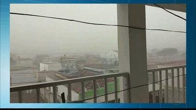 Choveu no interior da Paraíba - Choveu na cidade de São João do Cariri.