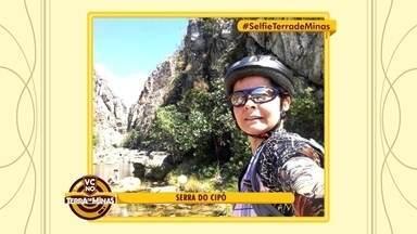 Reprise: Selfies de telespectadores do Terra de Minas destacam belas paisagens do estado - Fotos foram tiradas em locais como a Serra do Cipó.