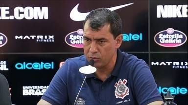 Carille monta primeiro Corinthians titular de 2018 e aponta Palmeiras como favorito no ano - Carille monta primeiro Corinthians titular de 2018 e aponta Palmeiras como favorito no ano