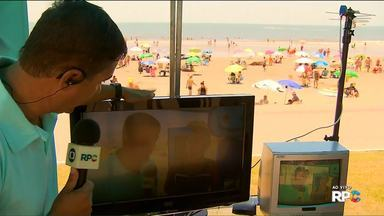 Sinal de TV analógico vai ser desligado no fim de janeiro - 26 cidades do estado só vão ter o sinal digital. Guaratuba, no litoral, é uma delas.