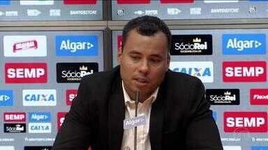 Técnico Jair Ventura começa os trabalhos no Santos - Ex-técnico do Botafogo falou sobre a vinda para o time paulista.
