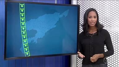 Confira a previsão do tempo para este sábado no Sul do RJ - Sol aparece entre nuvens na maior parte da região e tempo fica abafado.