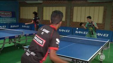 Tênis de mesa tem duelo de gerações em Teresina - Tênis de mesa tem duelo de gerações em Teresina