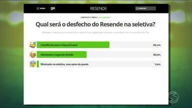 Enquete mostra se torcida confia na atuação do Resende na seletiva do Campeonato Carioca - Fique por dentro da situação dos times da região com o Vinícius Lima.