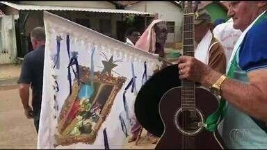 Centenas de fieis participam da tradicional Folia de Reis em Aragominas - Centenas de fieis participam da tradicional Folia de Reis em Aragominas