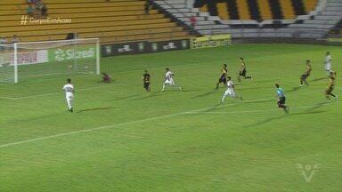 Santos vence o Aliança do Ceará por 3 a 0 na Copa São Paulo de Futebol Junior - Foi a segunda vitória do Peixe no campeonato. Gabriel Calabres, Sebastian e Kaio fizeram os gols da partida.