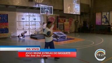 Grandes nomes da história do basquete participam de Jogo Festivo em São José - Jogo começa às 19h.
