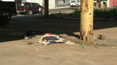 Reportagem mostra a realidade de moradores de rua em Guarapuava - Creas estima que pela menos 40 pessoas moram nas ruas da cidade.