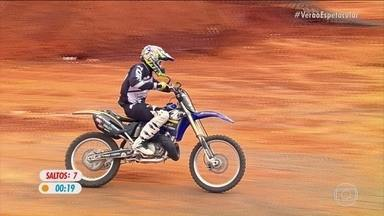 """""""Duelo de Motos: veja a volta de Joaninha na final do desafio em Minas Gerais - """"Duelo de Motos: veja a volta de Joaninha na final do desafio em Minas Gerais"""