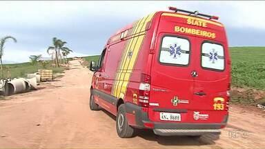 Jovem de 25 anos morre afogado em cachoeira na região de Ponta Grossa - Cachoeira fica em propriedade rural particular.